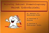 Marek Łobodziński Prywatny Gabinet Stomatologiczny, ul. Matejki 8/1, Kędzierzyn-Koźle