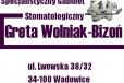 Specjalistyczny Gabinet Stomatologiczny lek. stom. Greta Wolniak-Bizoń