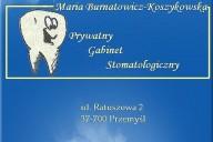 Maria Burnatowicz-Koszykowska Prywatny Gabinet Stomatologiczny , ul. Ratuszowa 2, Przemyśl