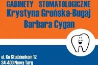 Barbara Cygan i Krystyna Grońska-Bugaj Gabinety Stomatologiczne, ul. Ku Studzionkom 12, Nowy Targ