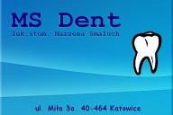 MS Dent Praktyka Stomatologiczna  lek. stom. Marzena Smaluch, ul. Miła 3a, Katowice