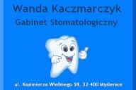 Wanda Kaczmarczyk Gabinet Stomatologiczny, ul. Kazimierza Wielkiego 58, Myślenice
