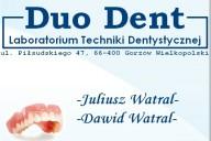 Duo Dent Laboratorium Techniki Dentystycznej Juliusz Watral, Dawid Watral, ul. Piłsudskiego 47, Gorzów Wielkopolski
