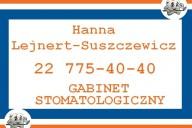 Gabinet Stomatologiczny Hanna Lejnert-Suszczewicz, ul. Paderewskiego 22, Nowy Dwór Mazowiecki