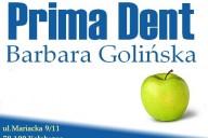 Prima Dent Gabinet Stomatologiczny Barbara Golińska, ul. Mariacka 9/11, Kołobrzeg