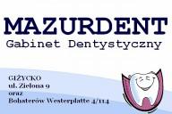 Mazurdent Gabinet Dentystyczny Zbigniew Bielak, ul. Zielona 9, Giżycko