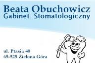 Beata Obuchowicz Gabinet Stomatologiczny, ul. Ptasia 40, Zielona Góra