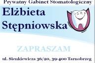 Elżbieta Stępniowska Prywatny Gabinet Stomatologiczny, ul. Sienkiewicza 36/20, Tarnobrzeg