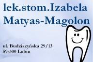 Izabela Matyas-Magolon Gabinet Stomatologiczny, ul. Budziszyńska 29/13, Lubin