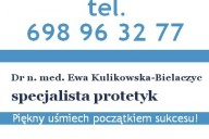 Ewa Kulikowska-Bielaczyc Specjalistyczna Praktyka Stomatologiczna, ul. Kręta 56E lok. 6E, Białystok