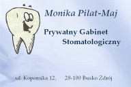 Monika Piłat-Maj Prywatny Gabinet Stomatologiczny, ul. Mikołaja Kopernika 12, Busko-Zdrój