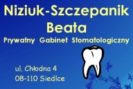 Beata Niziuk-Szczepanik Prywatny Gabinet Stomatologiczny, ul. Chłodna 4 , Siedlce