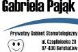 Gabriela Pająk Prywatny Gabinet Stomatologiczny