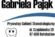 Gabriela Pająk Prywatny Gabinet Stomatologiczny, ul. Czapliniecka 28, Bełchatów
