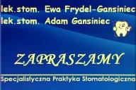 Specjalistyczna Praktyka Stomatologiczna lek. stom. Ewa Frydel-Gansiniec, ul. Edyty Stein 1 Ip, Lubliniec