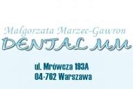 Dental-MM Małgorzata Marzec-Gawron Prywatna Praktyka Stomatologiczna, ul. Mrówcza 193A, Warszawa