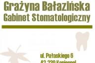 Gabinet Stomatologiczny Grażyna Bałazińska, ul. Pułaskiego 6, Koniecpol