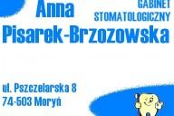 Anna Pisarek-Brzozowska Prywatny Gabinet Stomatologiczny, ul. Pszczelarska 8, Moryń