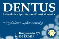 Dentus Magdalena Robaczewska, ul. Kosynierów 7/1, Rumia