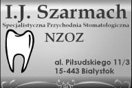 I.J. Szarmach Specjalistyczna Przychodnia Stomatologiczna NZOZ, al. Piłsudskiego 11/3, Białystok