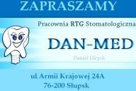 Dan-Med Pracownia RTG Daniel Ulrych, ul. Armii Krajowej 24A , Słupsk