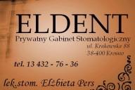 Eldent Prywatny Gabinet Stomatologiczny Elżbieta Pers, ul. Krakowska 88, Krosno