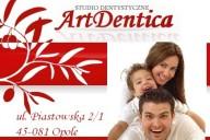 Artdentica Studio Dentystyczne Anna Rusin-Grela, ul. Piastowska 2/1, Opole
