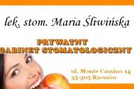 Maria Śliwińska Gabinet Stomatologiczny, ul. Monte Cassino 14, Rzeszów