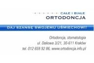 Całe i Białe Katarzyna Dziuba-Osikowicz Ortodoncja, ul. Daliowa 3/21, Kraków