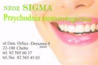 NZOZ Sigma lek. stom. Joanna Martyniuk-Muratov, ul. Orlicz - Dreszera 5, Chełm