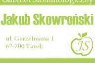 Jakub Skowroński Gabinet Stomatologiczny, ul. Gorzelniana 1, Turek