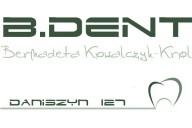 B.Dent Indywidualna Praktyka Dentystyczna Bernadeta Kowalczyk-Król, Daniszyn 127, Daniszyn