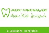 Anna Kot-Jedynak Indywidualna Specjalistyczna Praktyka Lekarska - Stomatolog, ul. Jesienna 20, Płock