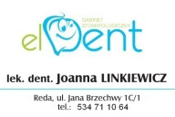 El-Dent Gabinet Stomatologiczny Joanna Linkiewicz, ul. Jana Brzechwy 1C/1, Reda