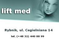 Aleksander Kleszcz, Dorota Stania, Beata Kąpa - LIFTMED, ul. Cegielniana 14, Rybnik
