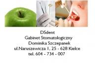 DSdent Gabinet Stomatologiczny Dominika Szczepanek, ul. Warszawskiej 29/5, Kielce