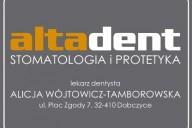 Altadent Alicja Wójtowicz-Tamborowska Gabinet Stomatologiczny, ul. Plac Zgody 7, Dobczyce