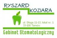 Ryszard Koziara Gabinet Stomatologiczny, ul. Długa 11-13/1, Tarnów
