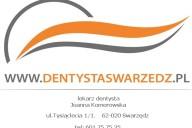 Dentysta lek.dent. Joanna Komorowska, ul. Tysiąclecia 1/1, Swarzędz