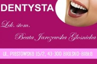 NZOZ STOMA-DENT Beata Jarczewska-Głośnicka, ul. Piastowska 15/2, Bielsko-Biała