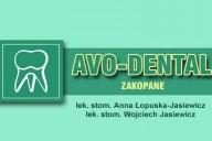 Avo-Dental Prywatna Przychodnia Stomatologiczna Anna Łopuska-Jasiewicz, Wojciech Jasiewicz, ul. Krupówki 50, Zakopane
