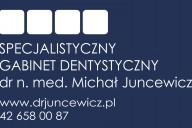 dr n. med. Michał Juncewicz Gabinet Stomatologiczny, ul. Szwajcera 15, Łódź